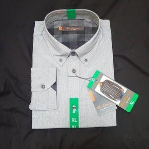 New Men's XL Black Ben Sherman Shirt